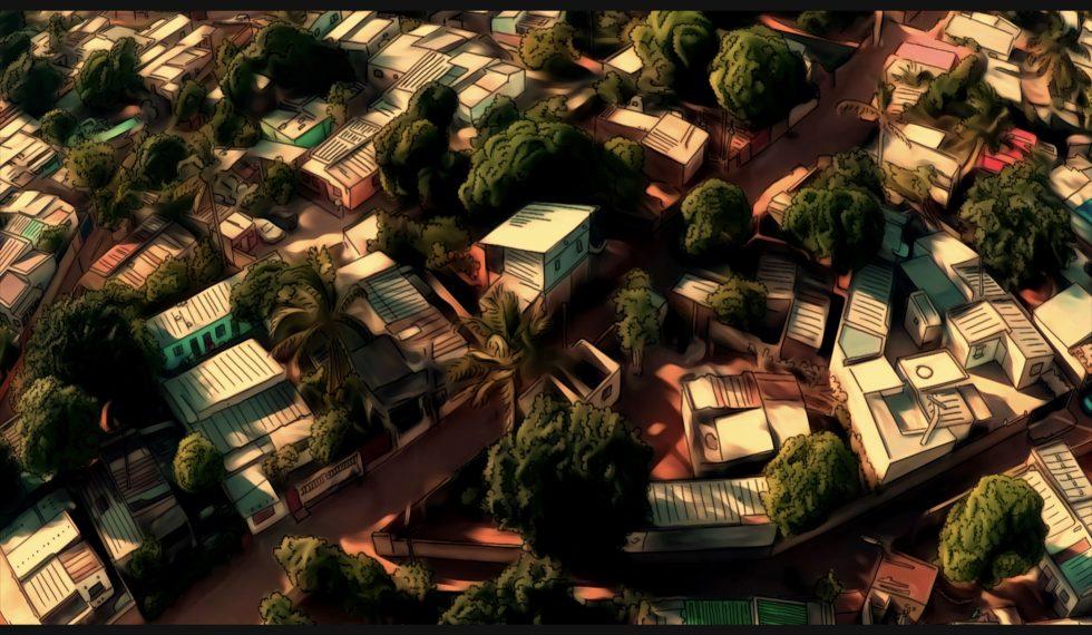Maputo zenital ciutat